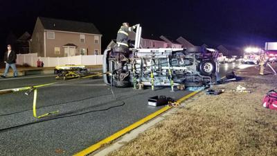 One trapped in five-vehicle Lexington Park collision