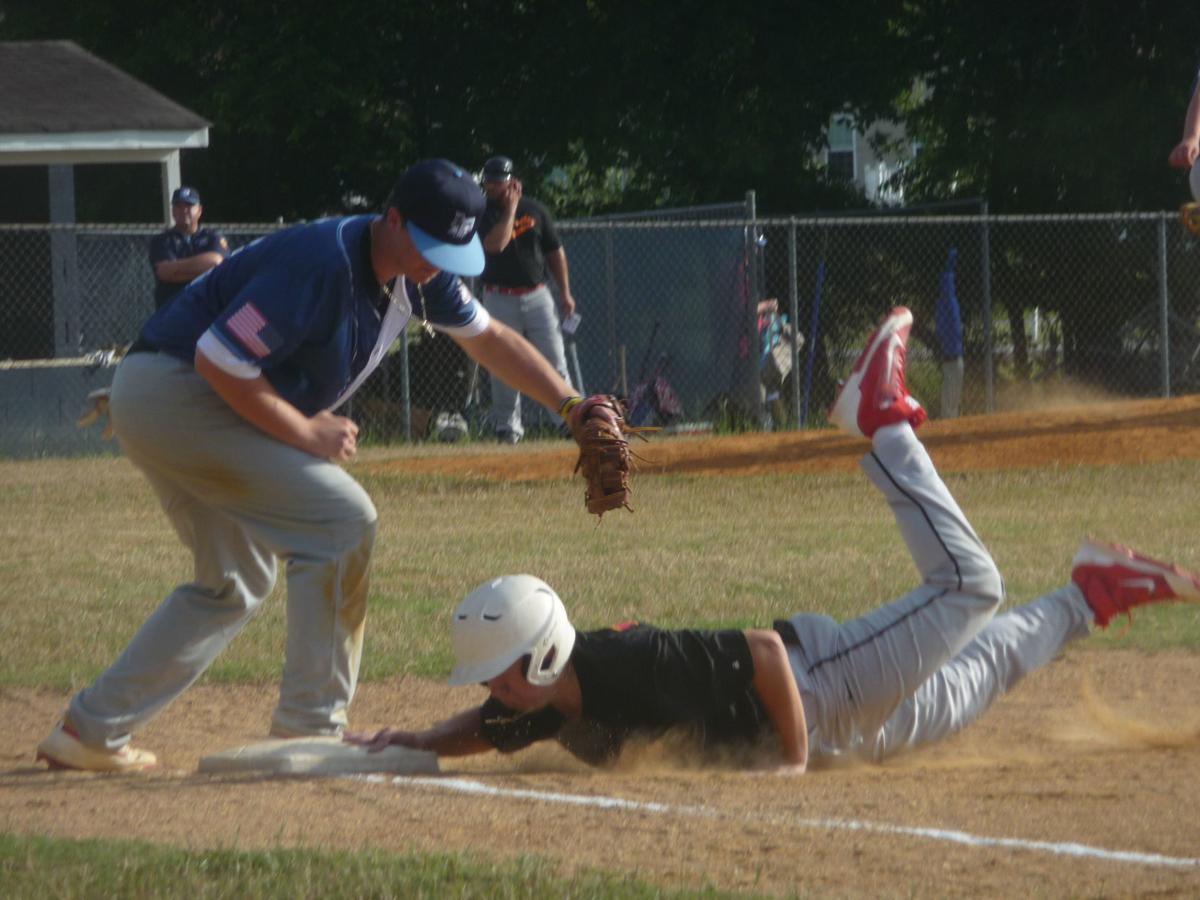 Austin Dalton (Hughesville Legion baseball), Dyllan Sheldon (La Plata Legion baseball)