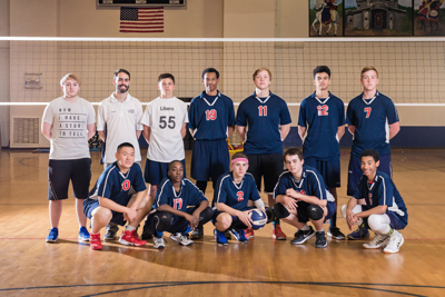 Grace Christian boys volleyball