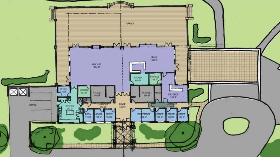 New golf clubhouse concept unveiled | Local News | somdnews.com Golf Course Club House Floor Plans on golf course design plans, golf course clubhouse design, golf course floor plans, golf course home exteriors tuscan style,