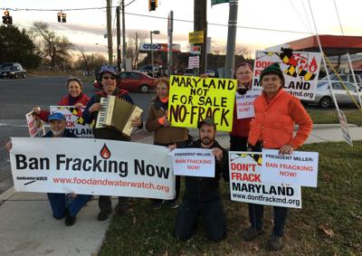 County activists, residents rally against fracking in support of permanent ban