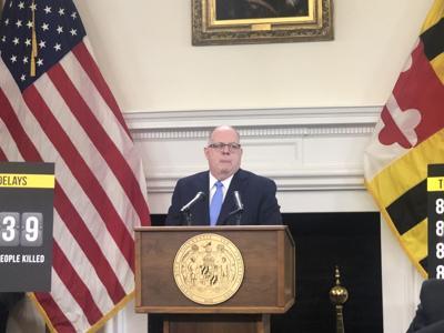 A 'life and death crisis': Hogan redesignates crime bills