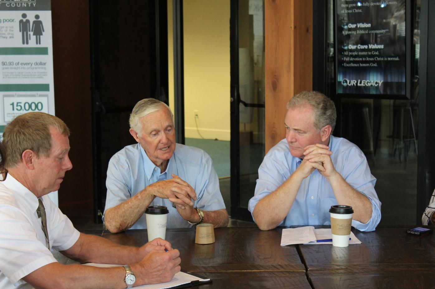 Van Hollen meets with Calvert Farmers
