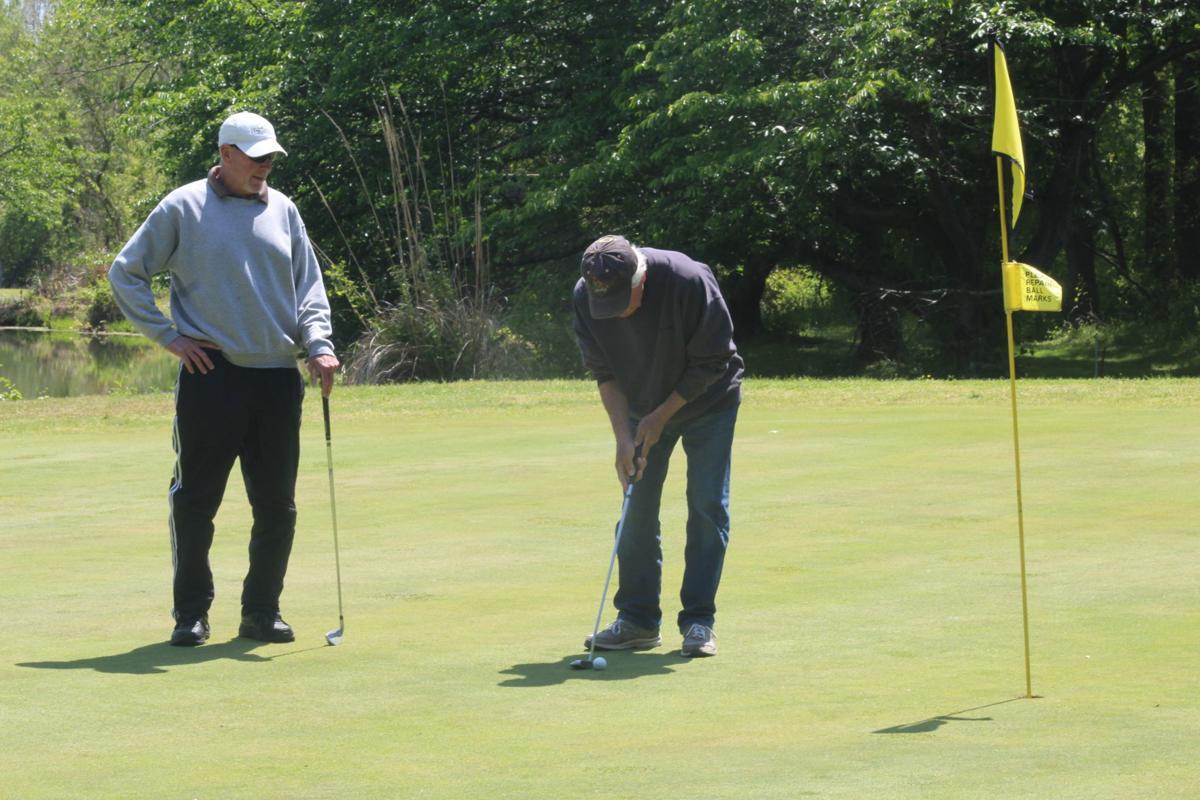 Doug Mays, Buddy Nutwell golf