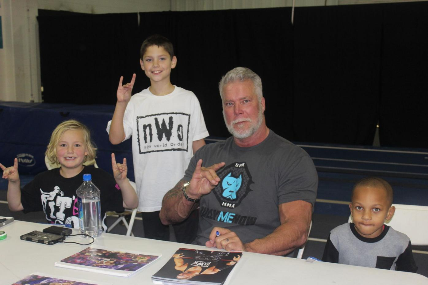 Nash meets fans at MCW Pro Wrestling event in Waldorf