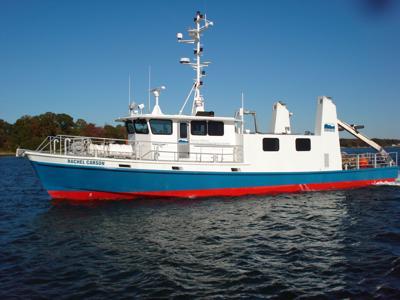 The Rachel Carson boat