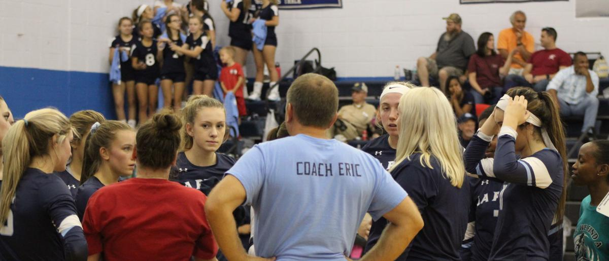 Ashley Buchanan (La Plata head volleyball coach)