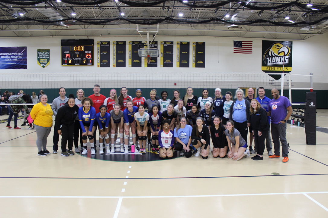 SMAC volleyball all-star game