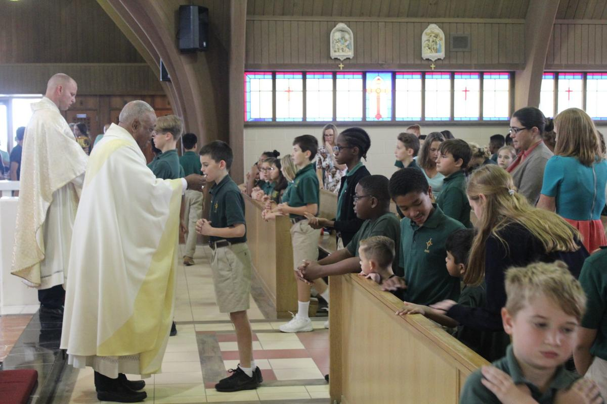 Archbishop Neale School welcomes new celebrant at opening mass