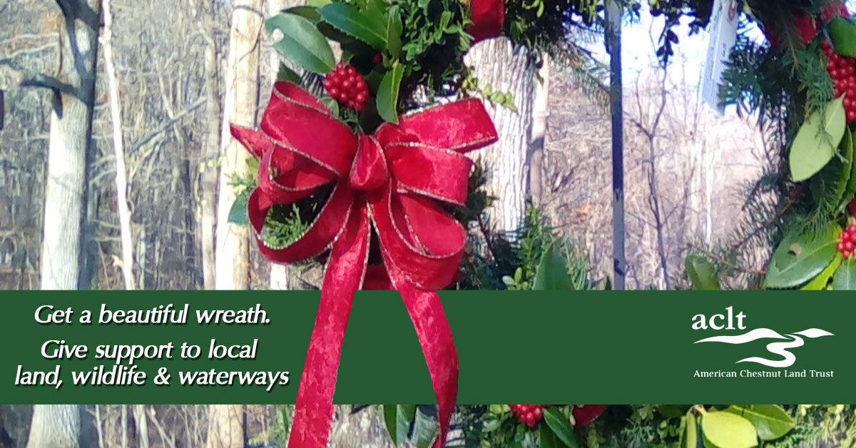 ACLT's Annual Holiday Wreath & Greens Sale