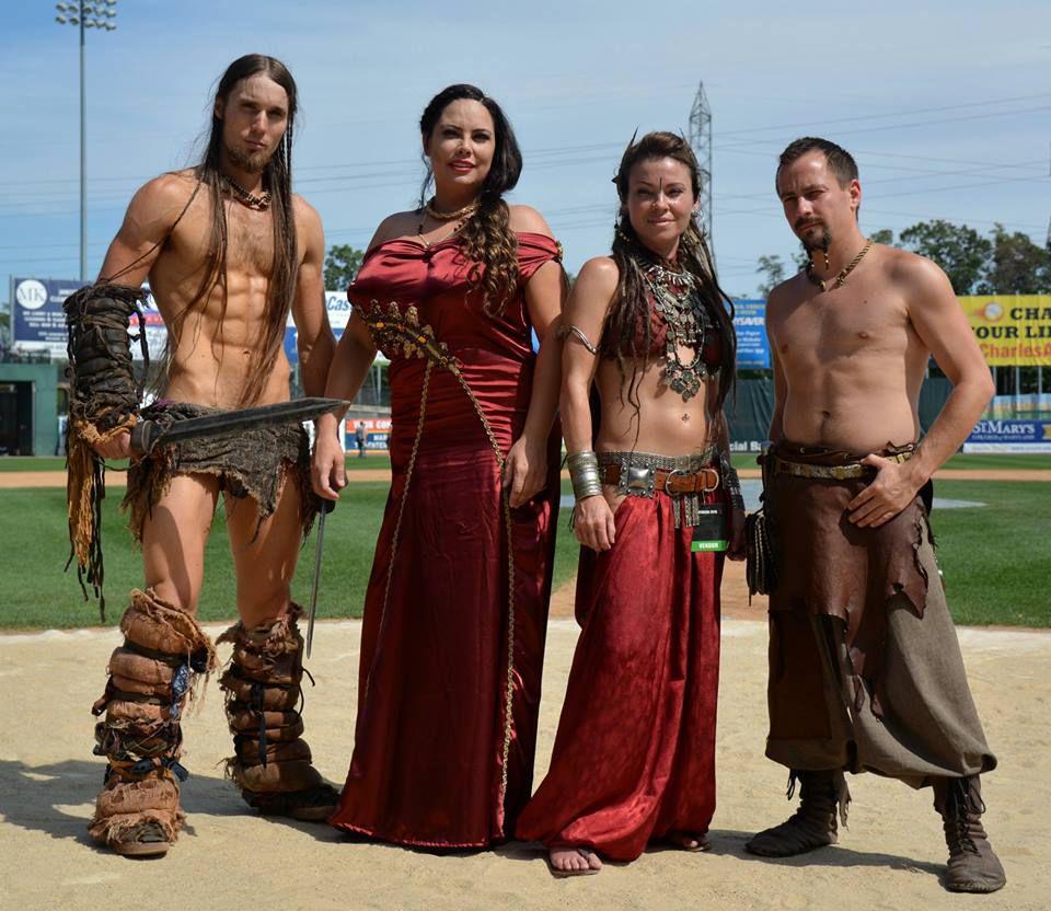 Spartacus fans prepare for SpartaCon II in Waldorf