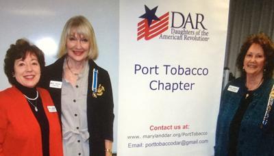 DAR Port Tobacco installs three into group