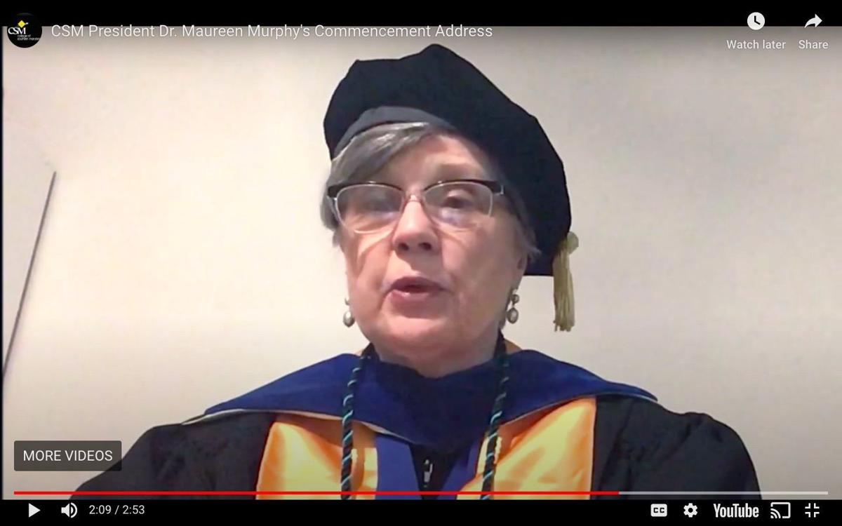 CSM holds spring commencement, virtually