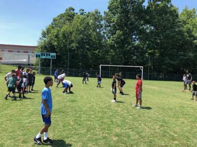 Westlake youth football camp