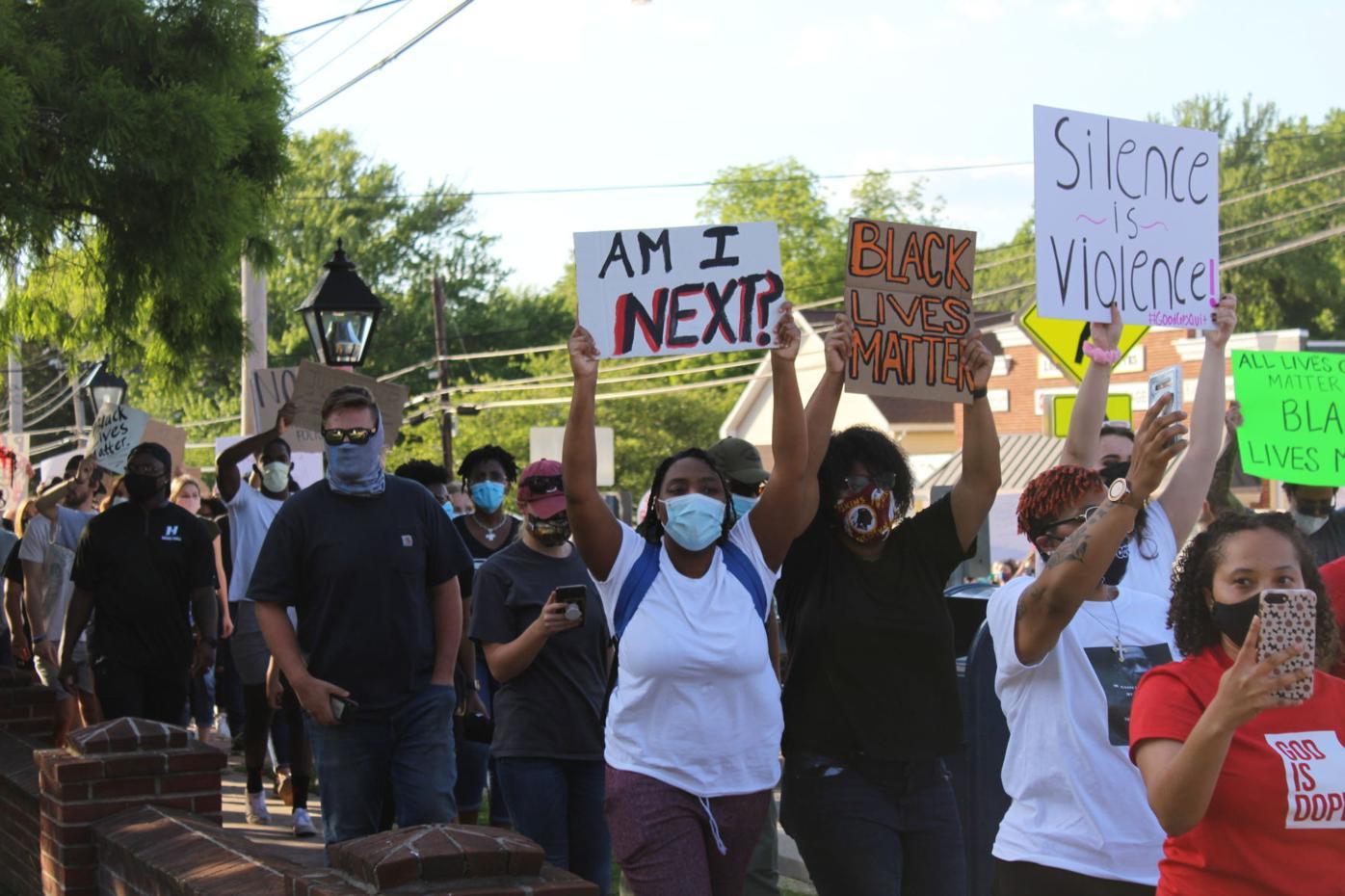 June demonstration in Prince Frederick