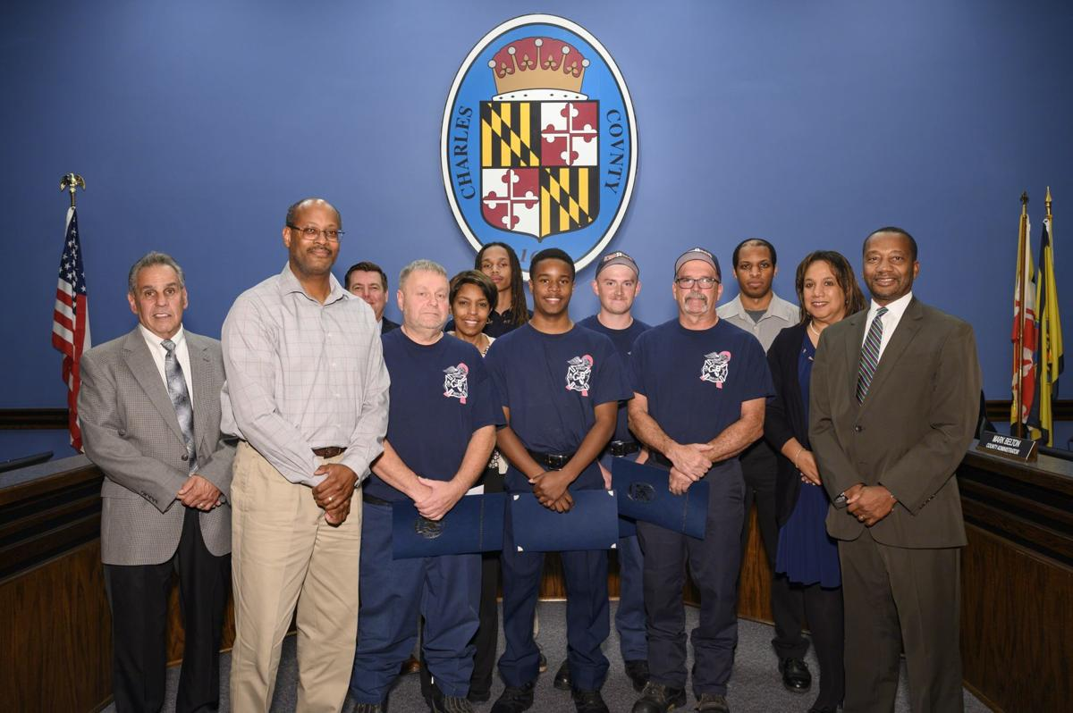 Indian Head firefighters commended for saving family