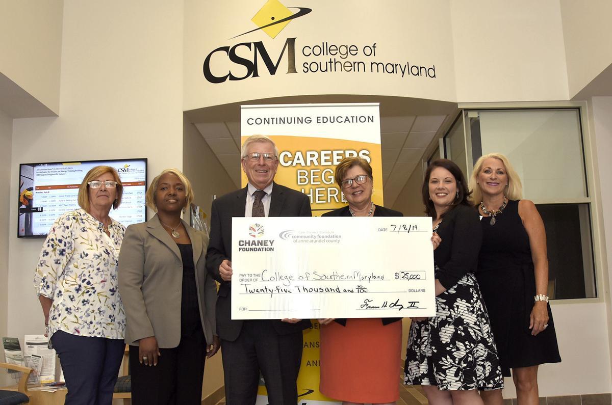 Chaney awards $25K workforce grant to CSM