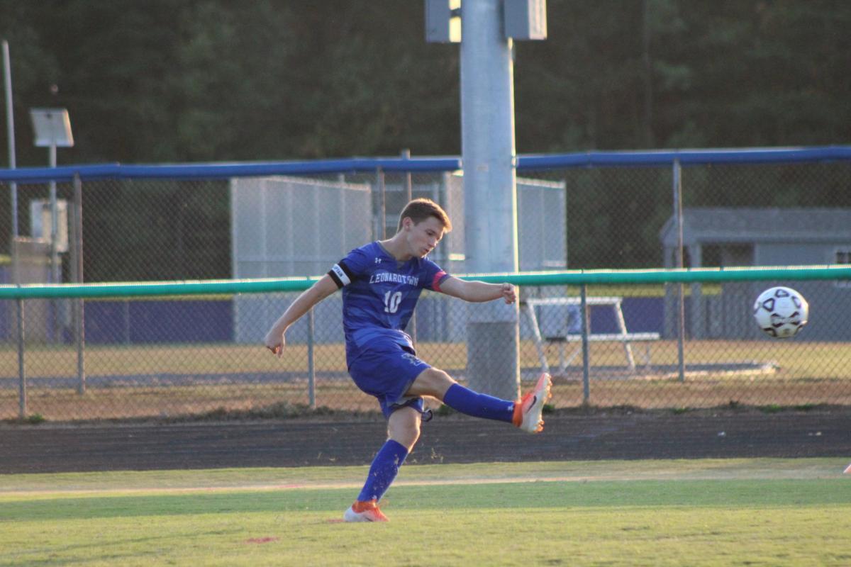 Garrett Bridgwater (Leonardtown boys soccer)