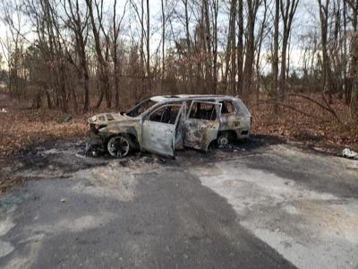 SUV burned in Mechanicsville