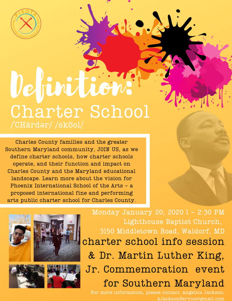 Charter School Event Flyer