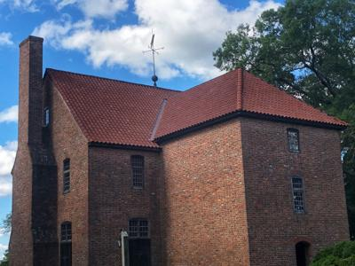 State House in St. Mary's City gets new roof