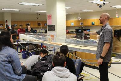 North Point receives innovative, portable wave flume to study coastal processes