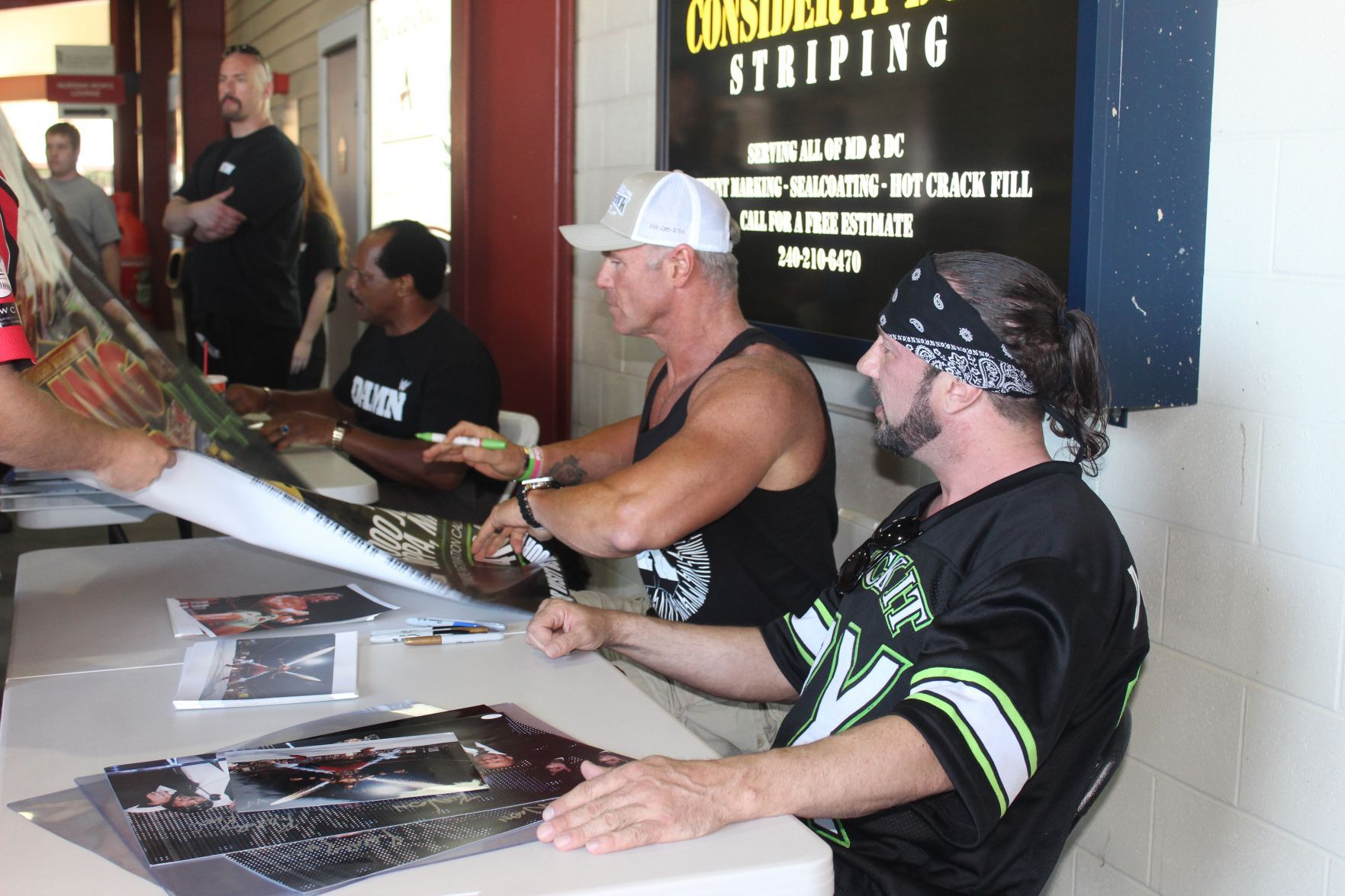 WWE Legends Visit Regency Furniture Stadium Last Weekend