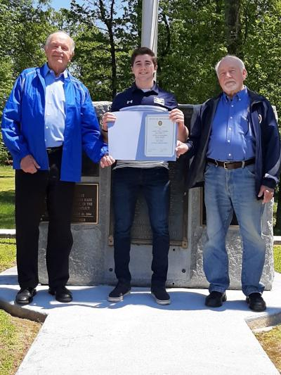 Sons of American Legion present scholarship