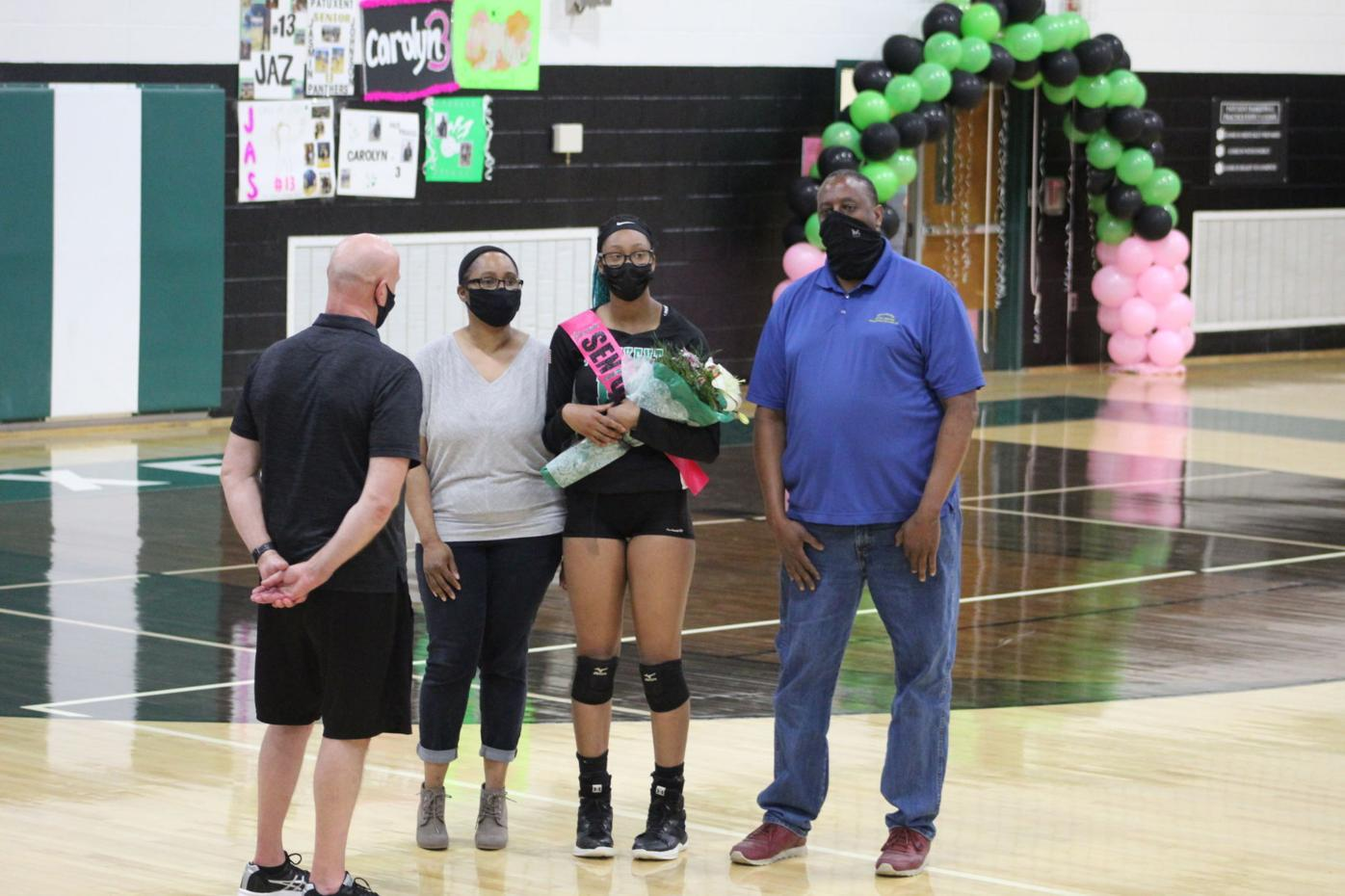 Patuxent volleyball prevails on senior night