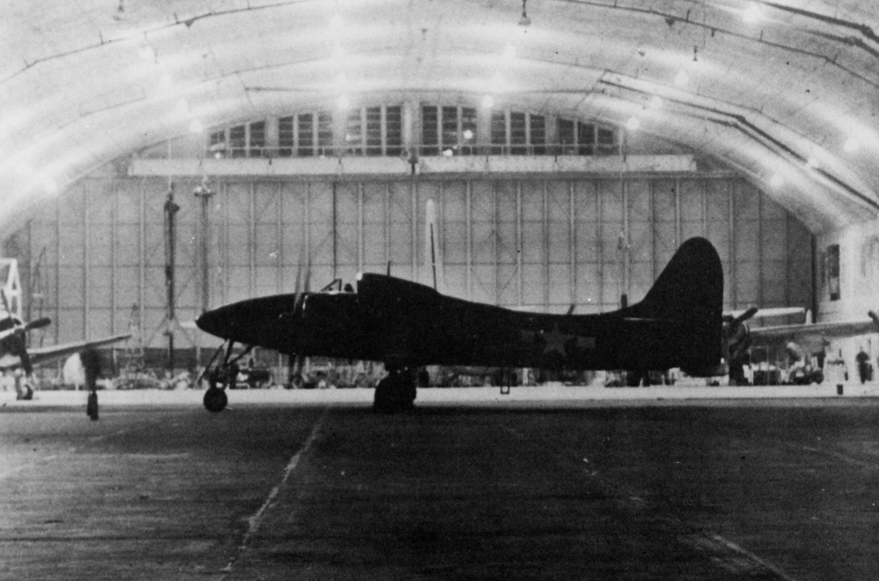 An F7F Tigercat was one of the