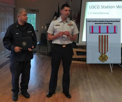 Coast Guard Auxiliary recognizes one of its own