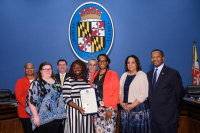 Board honors women's history