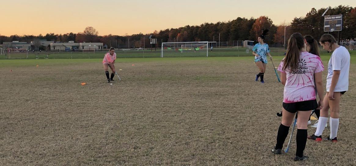 La Plata fall sports practices