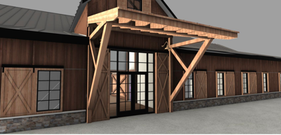 Chesapeake Hills clubhouse concept