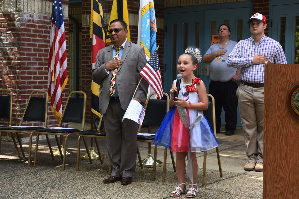 Indian Head celebrates Independence Day on the Village Green