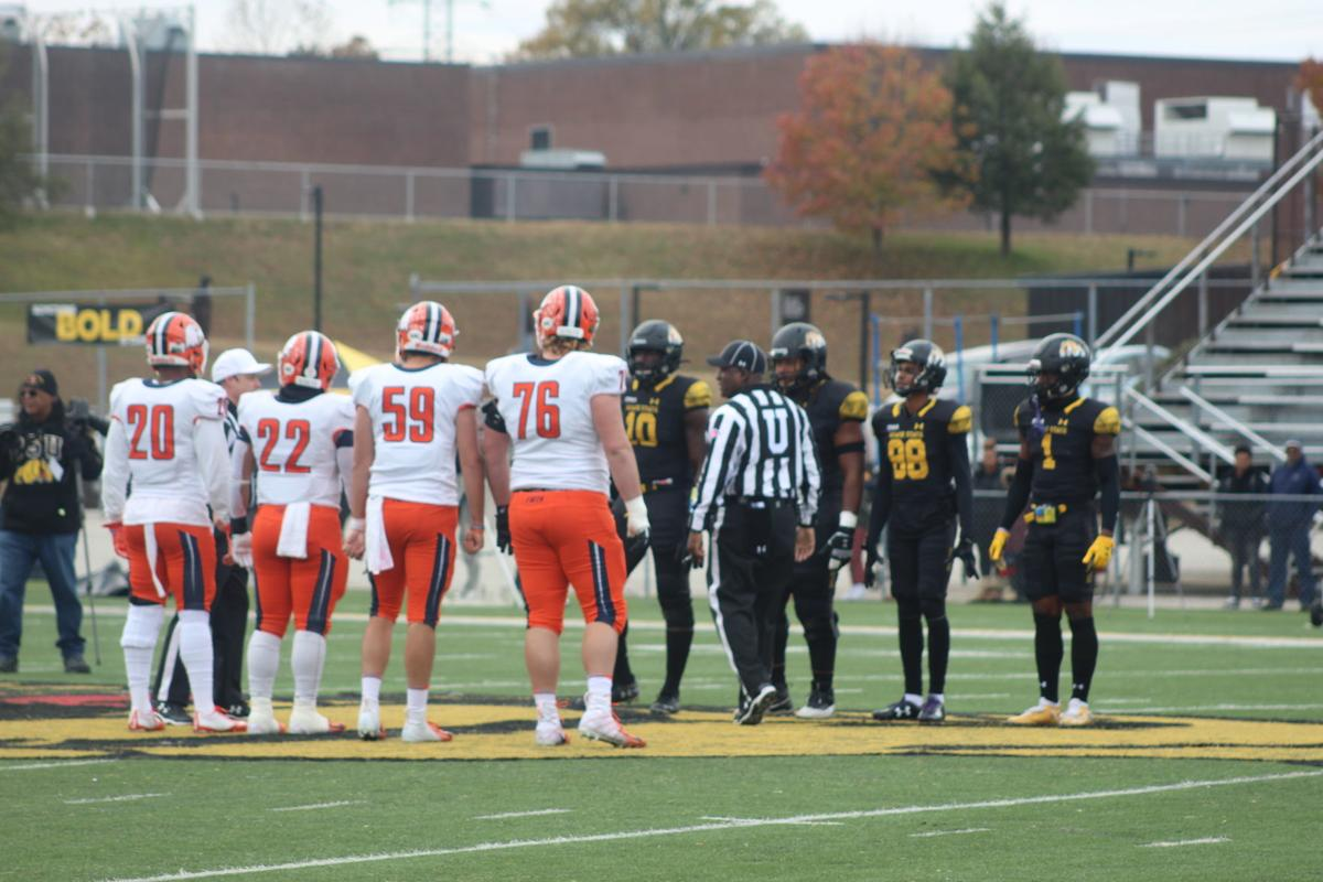 Bowie State coin toss