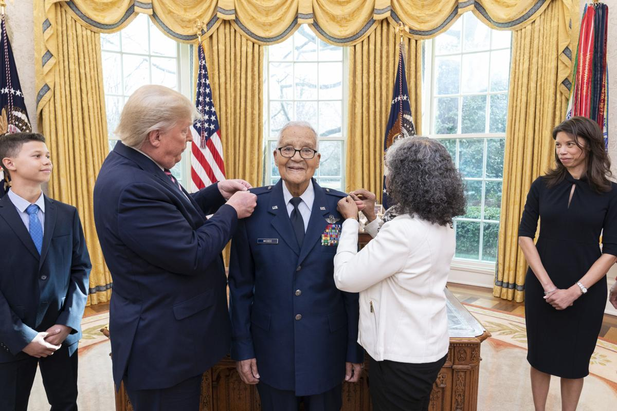 Tuskegee Airman promoted to brigadier general