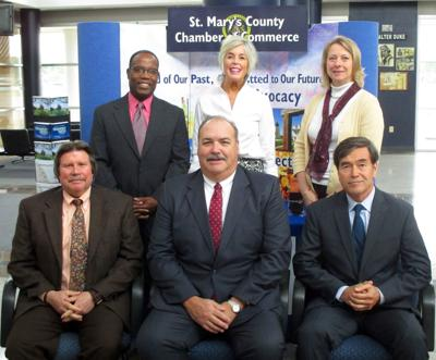 Members of the Executive Committee of the St. Mary's County Chamber of Commerce