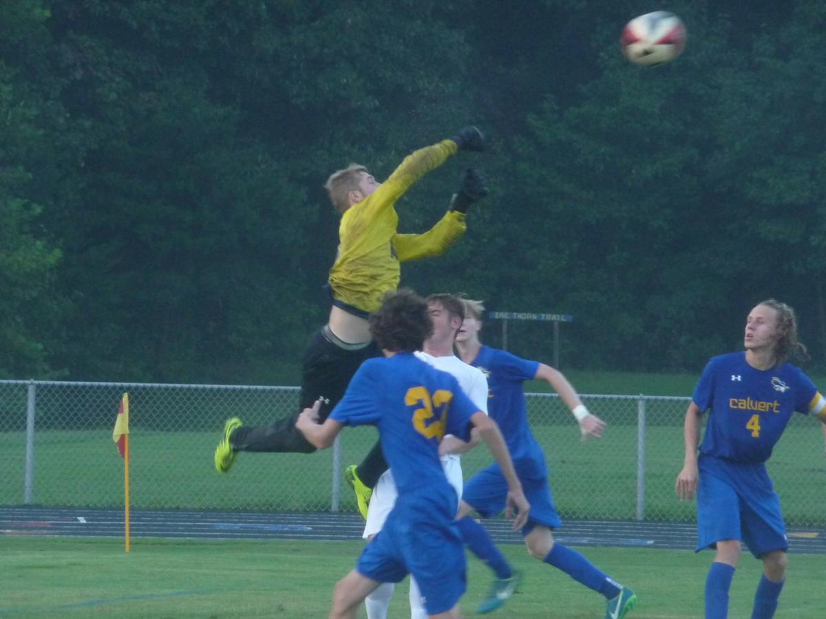 Calvert boys soccer held off by St. Mary's Ryken   News ...