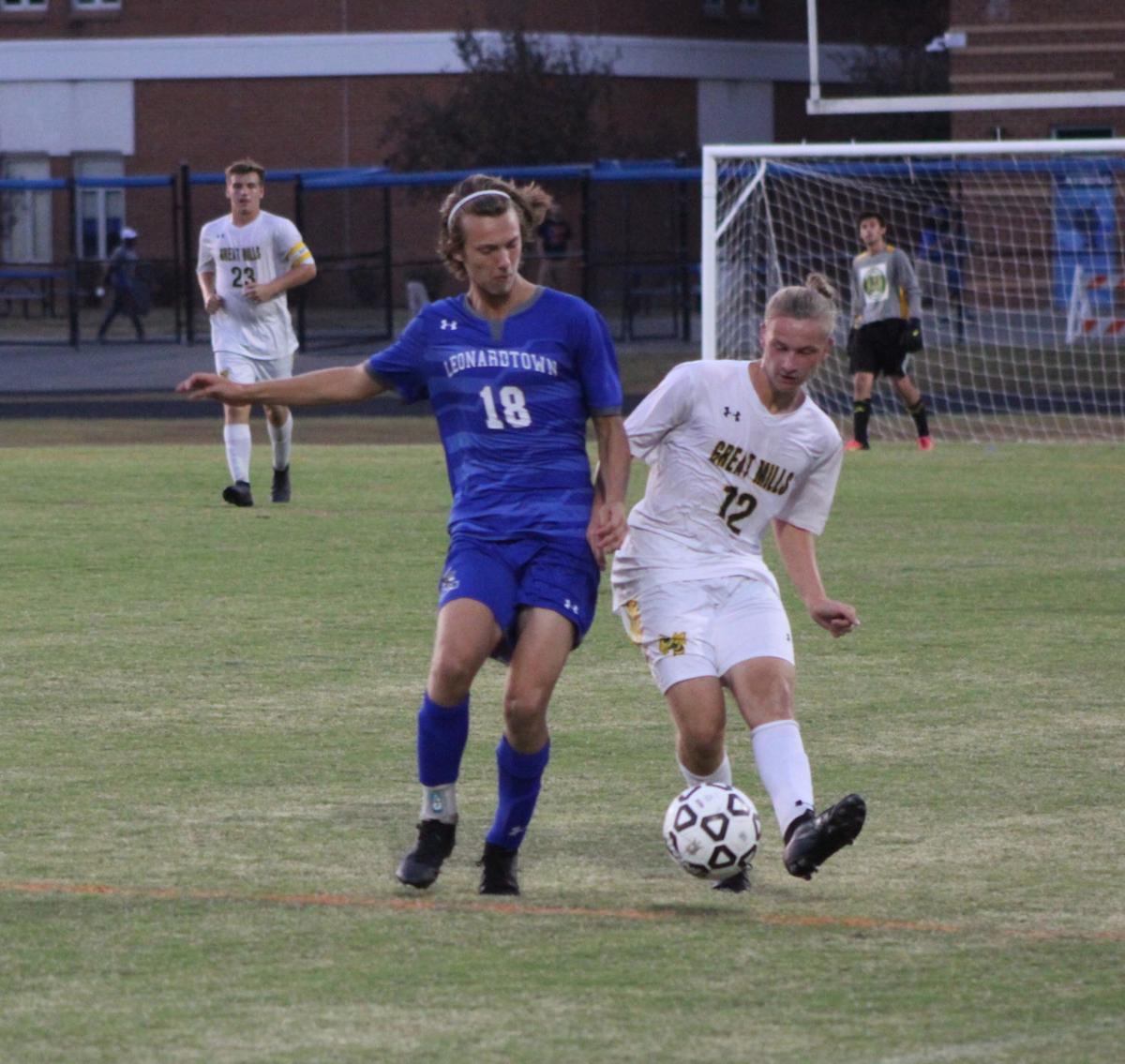 Connor Yager (Leonardtown boys soccer)