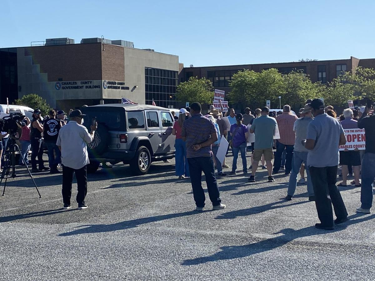 County citizens protest for reopening