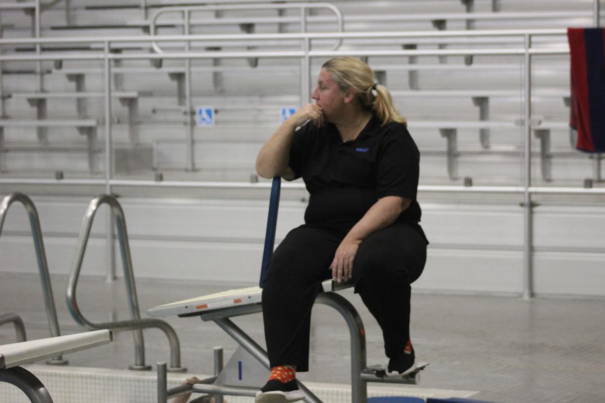 Mary Jane Cupples (La Plata head swim coach)