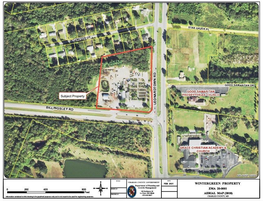Zoning map amendment recommended