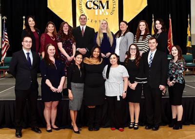 CSM pinning ceremony celebrates 38 nursing graduates