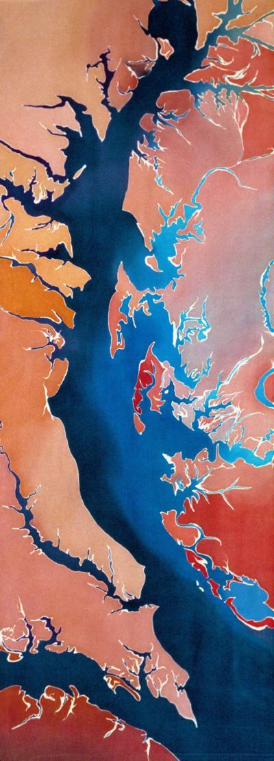 artwork on Chesapeake Bay