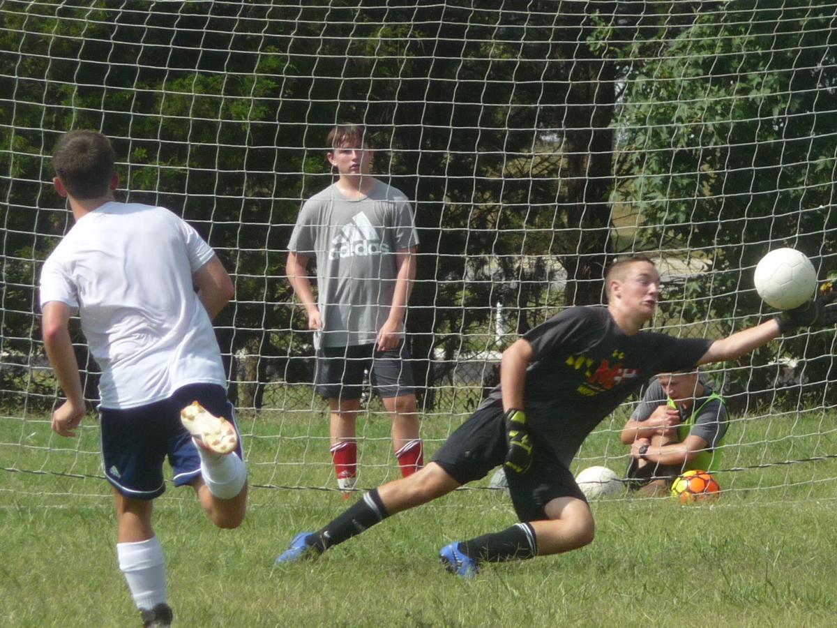 Michael Anderson, JD Santiago (La Plata boys soccer)