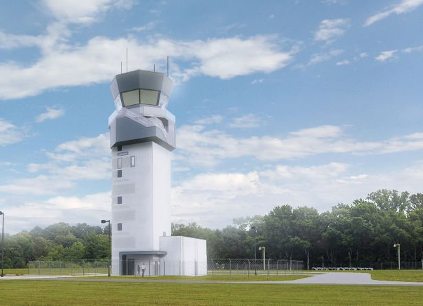 Balloon test conducted at Webster Outlying Field for new air traffic control tower