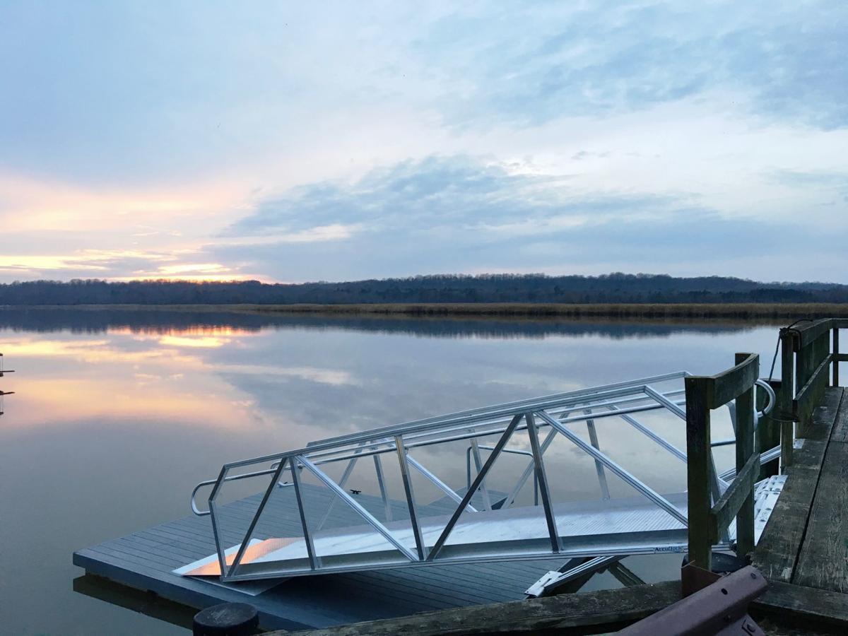 Owings floating dock