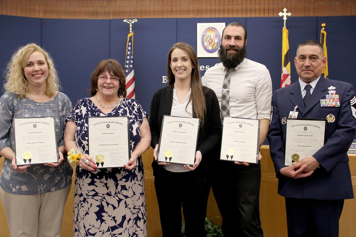 CCPS Board of Ed honors exemplary employees