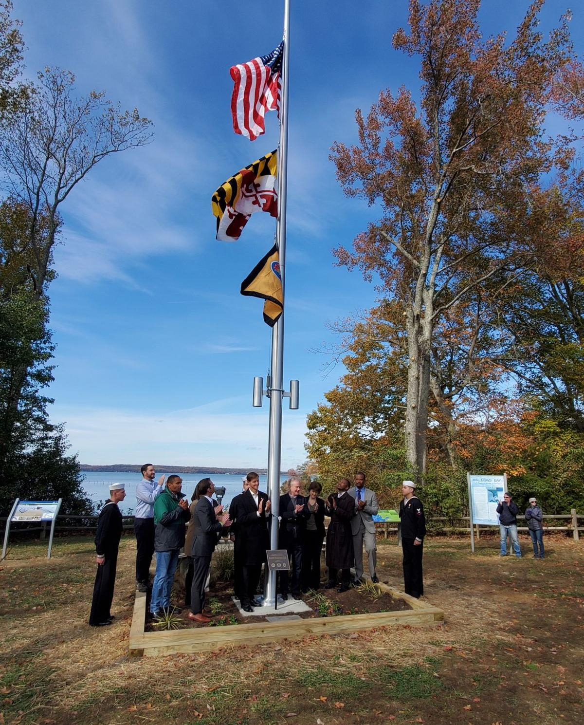 Ceremony held to dedicate Mallows Bay sanctuary